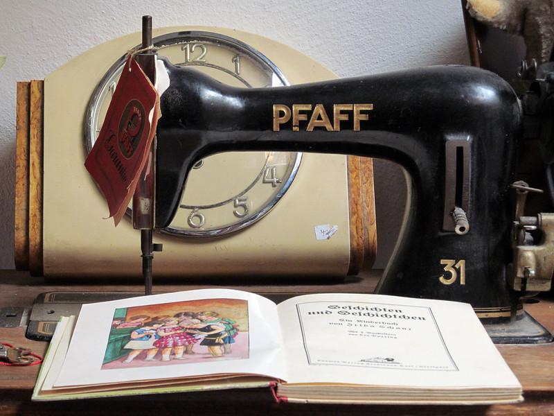 machine a coudre pfaff ancienne
